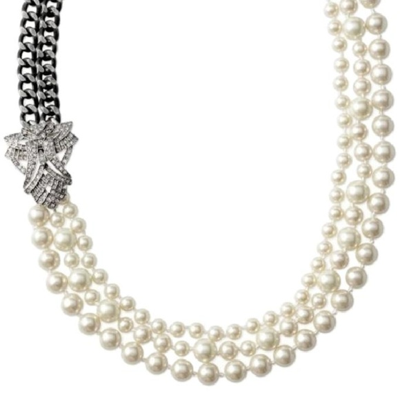 655ef93839d59 Stella & Dot Daisy Pearl Necklace NWT